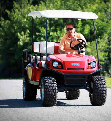 EZGO cart, Hot Rod Golf Cart