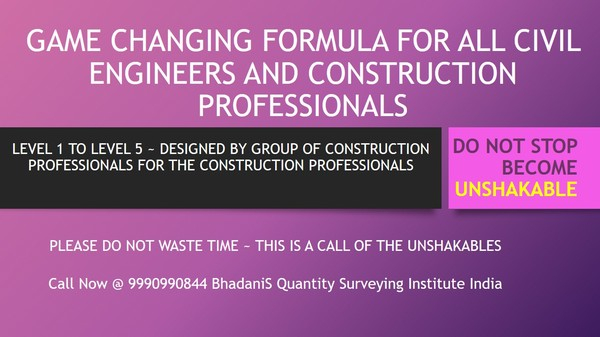 QUANTITY SURVEYING INSTITUTES IN DELHI DWARKA ROHINI FOR