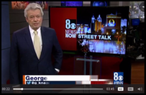 George Knapp-Street Talk Channel 8 LV