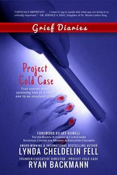 Grief Diaries Project Cold Case book