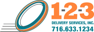 1-2-3 Delivery Services, Inc. Logo