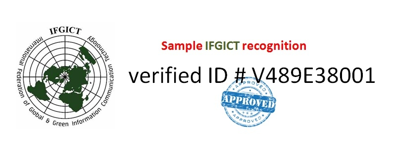 List of Certifications by IFGICT
