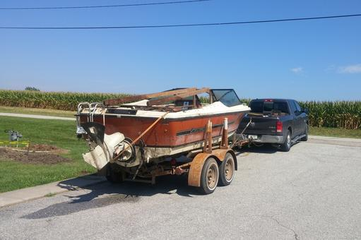 OLD JUNK BOAT REMOVAL BOAT DISPOSAL BOAT HAULING BOAT MOVERS GRAND ISLAND NE :