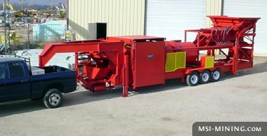 T5 Portable Gold Trommel Wash Plant Msi Mining Equipment