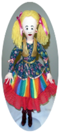 Raggedy doll collection all cloth doll