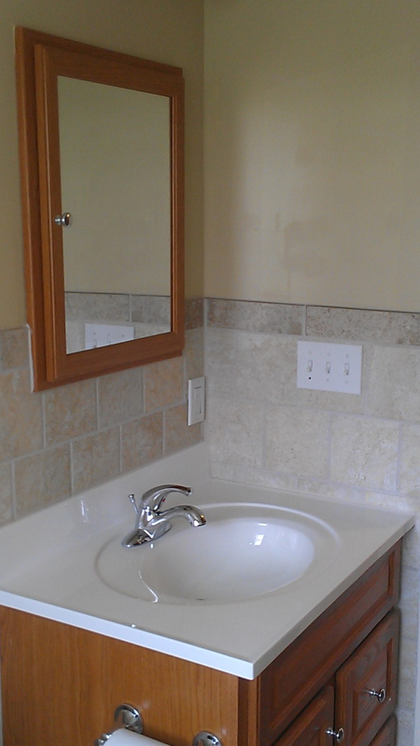Bathroom Renovations Vary Widely In Cost Depending On How Luxurious Something Simple With New Fixtures A Refinished Countertop And Sink And Some New Paint