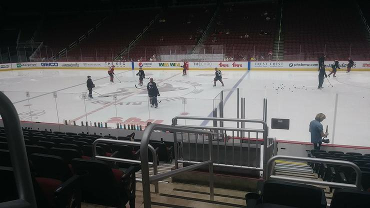 Arizona Coyotes Training Camp