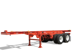 Steel Chassis 20 foot Trailer