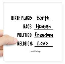 birthplace earth, humanity, zazzle, spread kindness, freedom, love, earth, unity, awakening