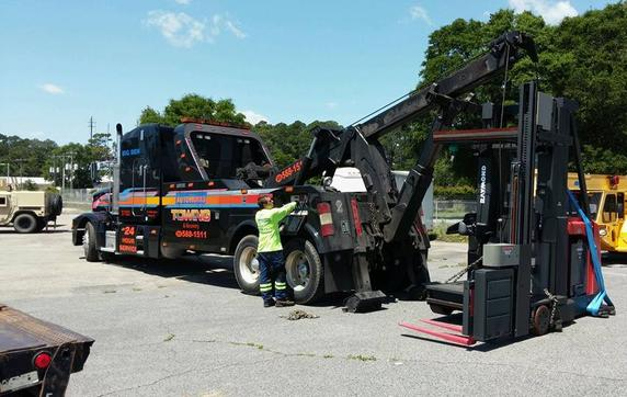 Specialized Equipment Towing Services