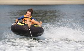Tube Rentals at Lake Balboa Marina in Hot Springs Village