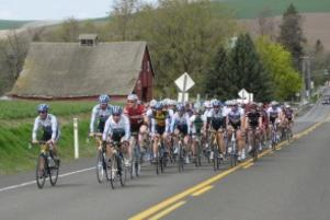 Tour of Walla Walla cyclists
