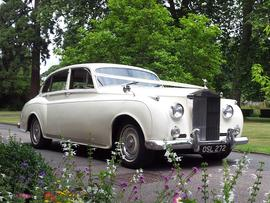 Wedding car hire Essex Rolls Royce silver Cloud 1