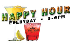 Happy Hour Everyday 3-6pm