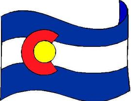 Colorado flag Daughters of the American Revolution