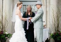 A Handfasting Unity Ritual at Gale Mansion in Minneapolis