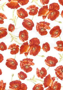 Flower Ceramic decals for china by Calcodecal