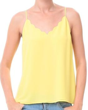 Yellow Scallop Tank