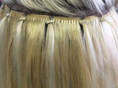 remy human hair extensions in micro rings weave hair extensions
