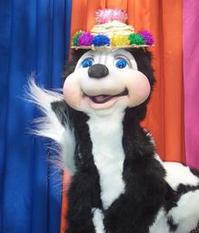 Isabel the talking Skunk. Magic With a Message.
