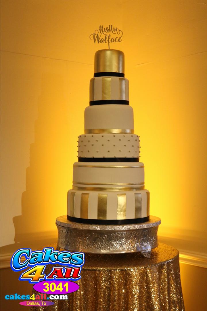 Wedding Cakes - Cakes 4 All