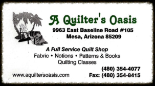 A Quilter's Oasis - A full service quilt shop