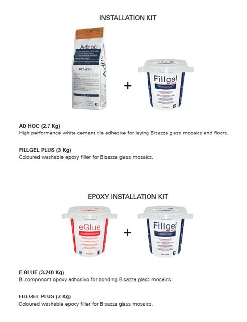 bisazza technical area bisazza installation instructions