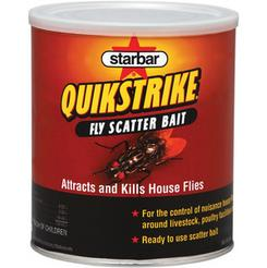 QuikStrike Fly Scatter Bait comes in 1 and 5 pound cans