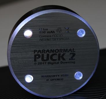 Paranormal Puck 2 Rev B, Bill Chappell , Digital Dowsing