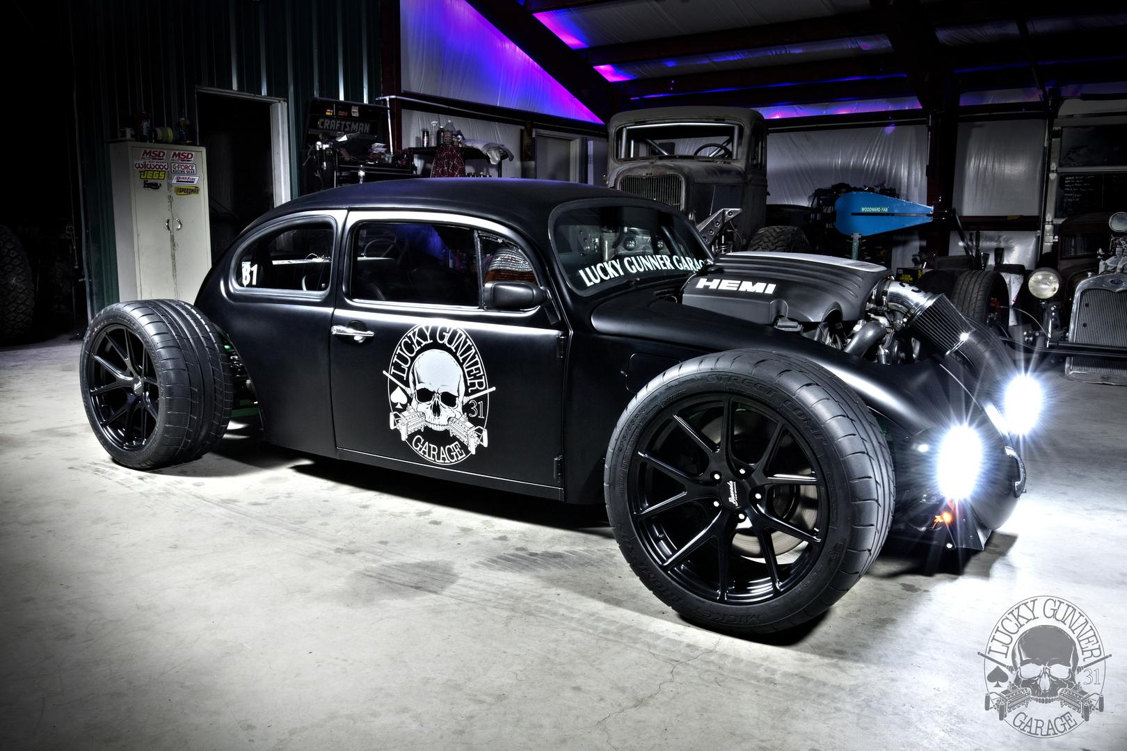 Lucky Gunner Garage - 1976 Volkswagen Beetle