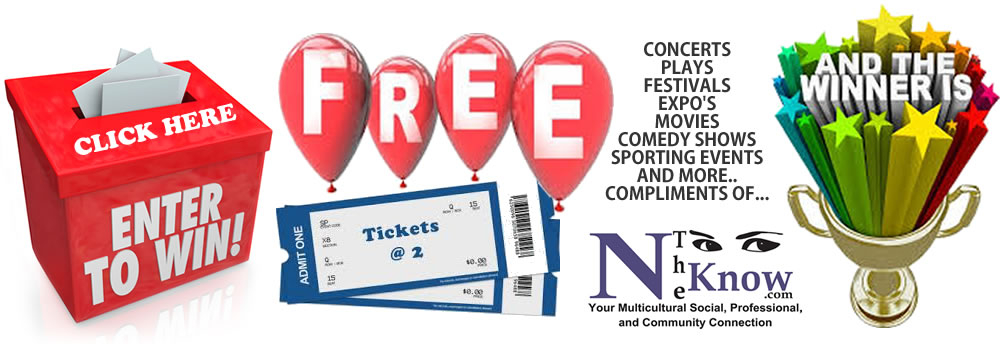 WIN Tickets to attend events on www ntheknow com