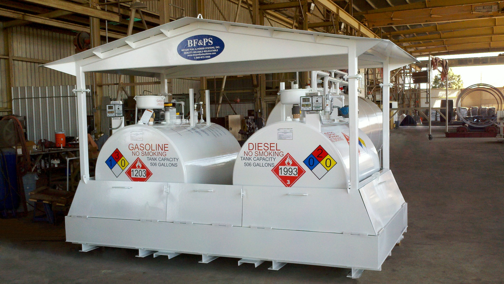 Above Ground Fuel Storage Tanks - Bryant Fuel Power Systems