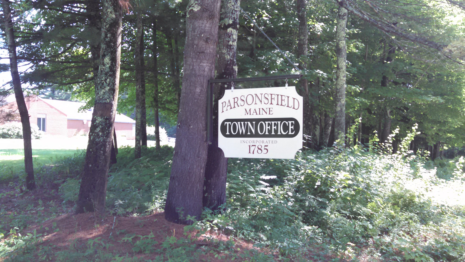 Parsonsfield Maine Map.Tax Maps