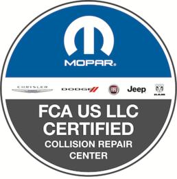 Able Body Shop is a FCA US LLC Certified Collision Repair Center