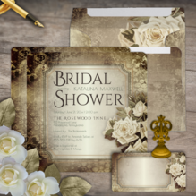 wedding and bridal shower invitations and accessories and gifts