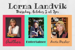 Author Lorna Landvik - Thursday, October 5 at 7pm