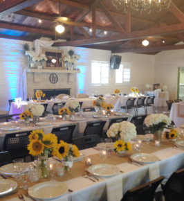 Wedding reception at Boca Grande Crown Shield