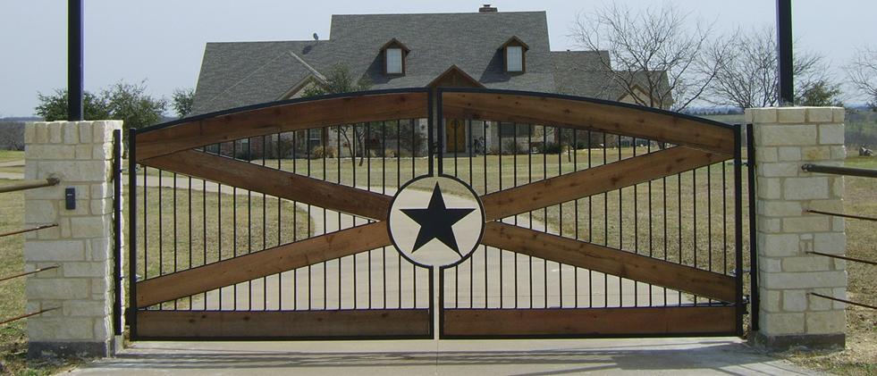 Automatic Gates Midlothian Mansfield Texas Solar Gate Openers