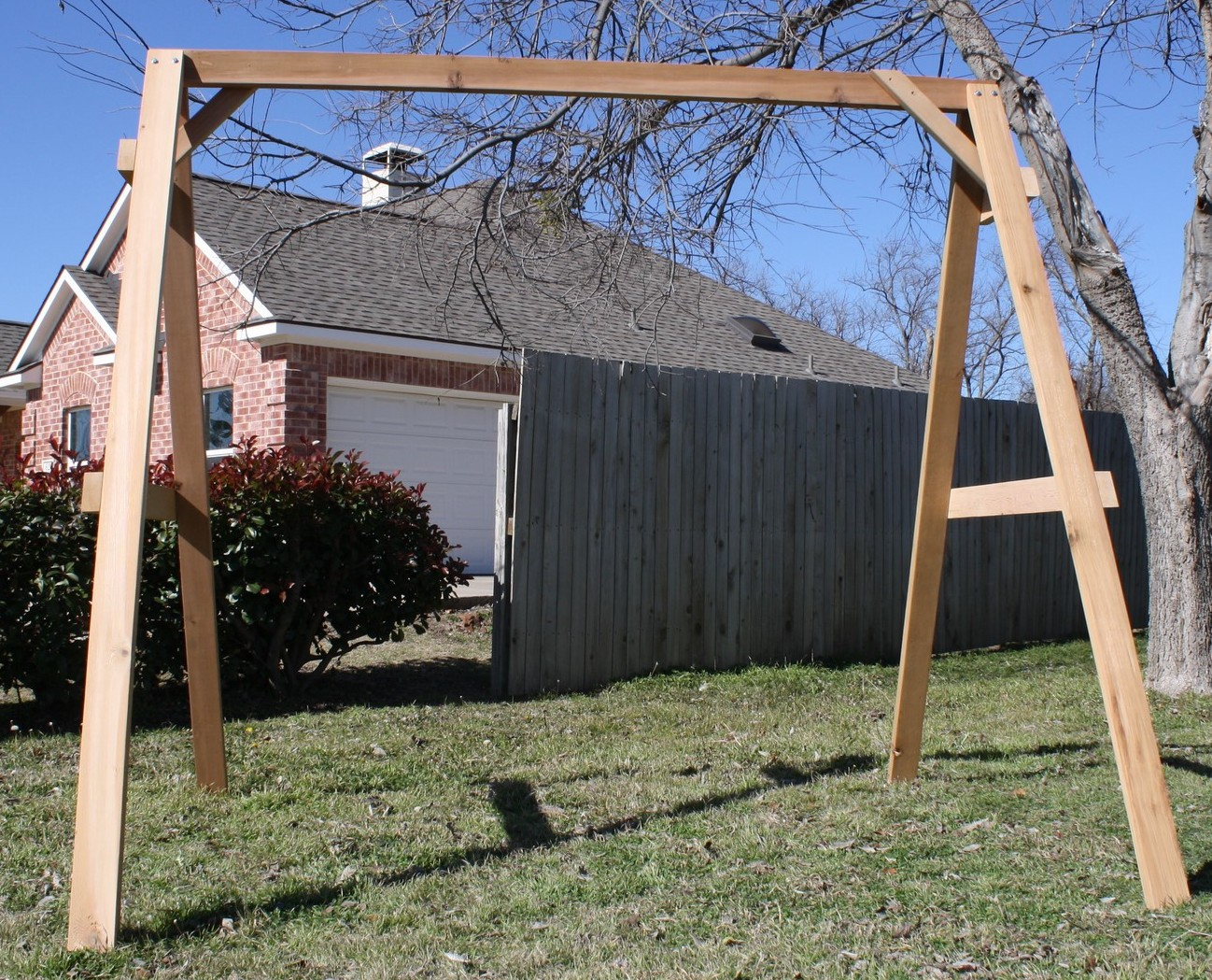 Tall A-frame Swing Stand