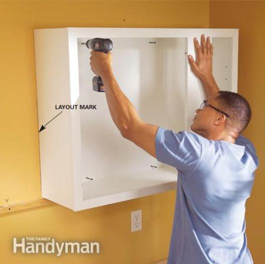 Top Wall Cabinet Installation Services in Lincoln, NE | Lincoln Handyman Services