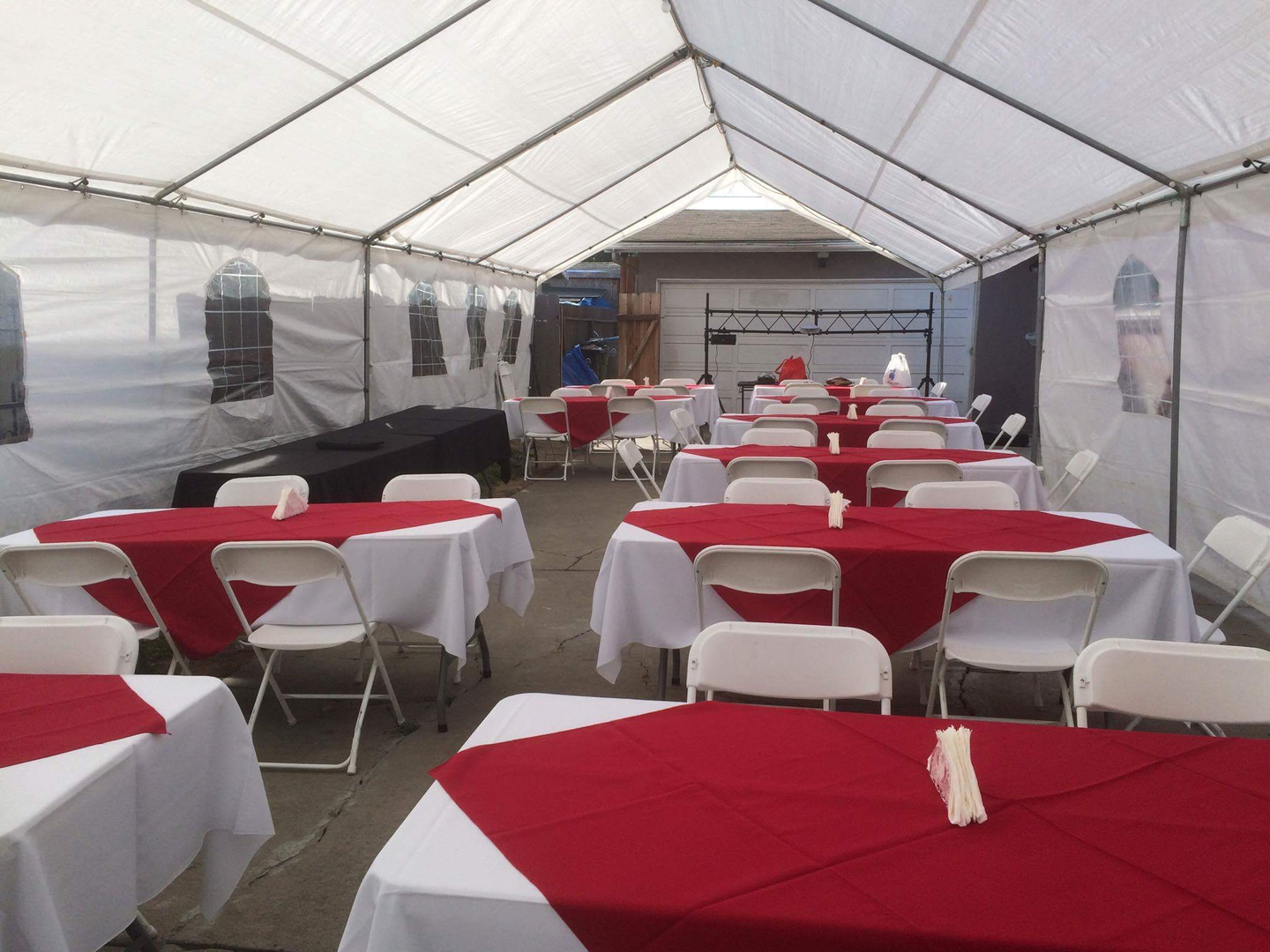 Rental table and chairs - Tables And Chairs Sanchez Jumpers Rental San Jose Ca