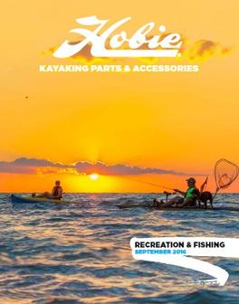 August 2016 Hobie Parts & Accessories Brochure