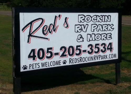 Red's Rockin RV Park is located in Wellston, OK near