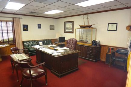 Attorney John Stewart's office handling wills and trusts, and probate