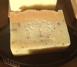 Soap with Handmade imprint