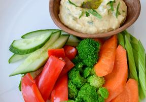 Smoky White Bean Hummus