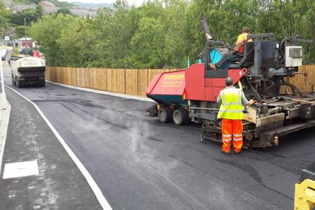 Coombe Valley Road, Surfaccing contractor