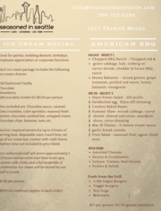 Themed Menus