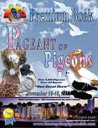 2017 Pageant of Pigeons Premium Book