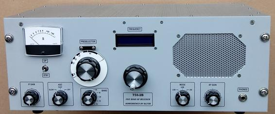 75S-2B Receiver by KG7TR